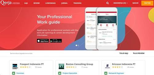 Situs Lowongan Pekerjaan Qerja.com