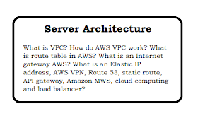 Server Architecture Interview Questions and Answer
