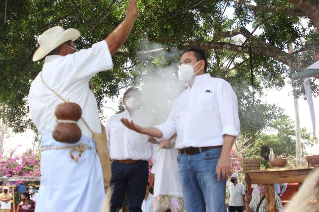 H´men da limpia a Liborio Vidal al comenzar su campaña
