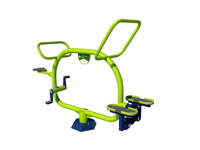 Rower stepper siłownia dla dzieci dzieciaków mini siłownia