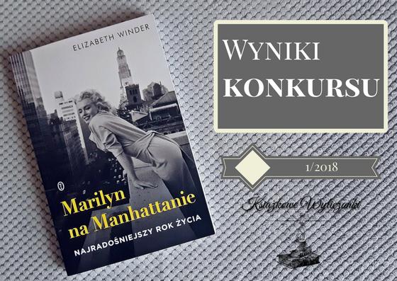 "WYNIKI KONKURSU ""Marilyn na Manhattanie"" Elizabeth Winder"