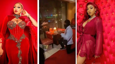 Toyin Lawani Gets Engaged On Valentine's Day