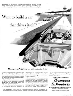Thompson Products - build a car that drives itself