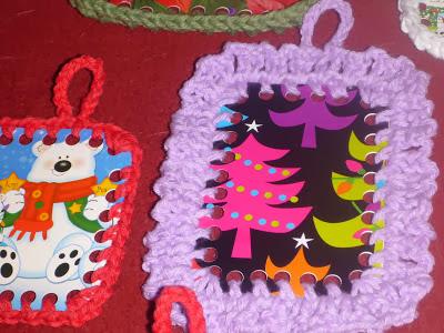 Haz Tarjetas de Navidad en Crochet