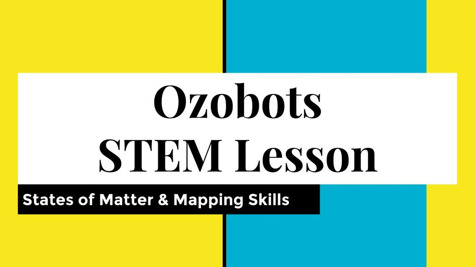 January STEM Challenge 2nd Grade: Coding with Ozobots