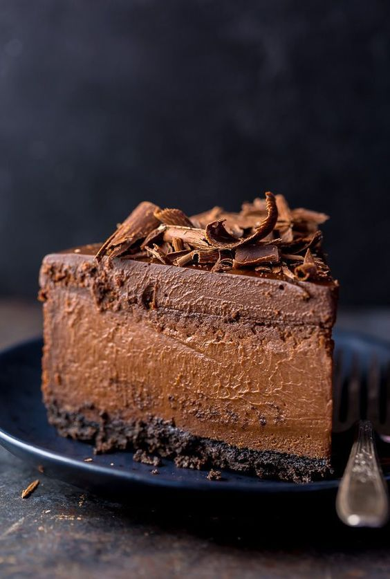 This is the Best Chocolate Cheesecake recipe! Each slice is rich, creamy, and topped with chocolate ganache! If you're a chocolate lover, get some quality chocolate and try this ultimate chocolate cheesecake recipe today.
