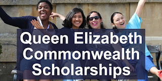Queen Elizabeth Commonwealth Scholarships in South Africa 2020