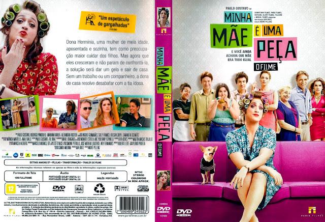 Capa DVD Minha Mãe É Uma Peça O Filme