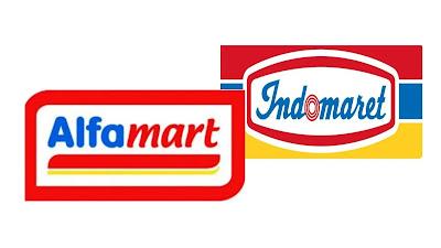 alfamart dan indomaret logo