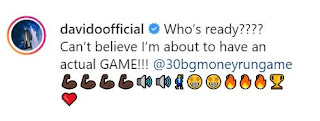 "WOW!!! Davido Set To Launch A New Mobile Game Called ""30BG Money Run Jungle"""