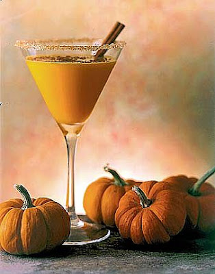 Haute Cocktail Thanksgiving: Pumpkin Spice Martini