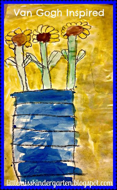 Van Gogh Art Lesson Kindergarten