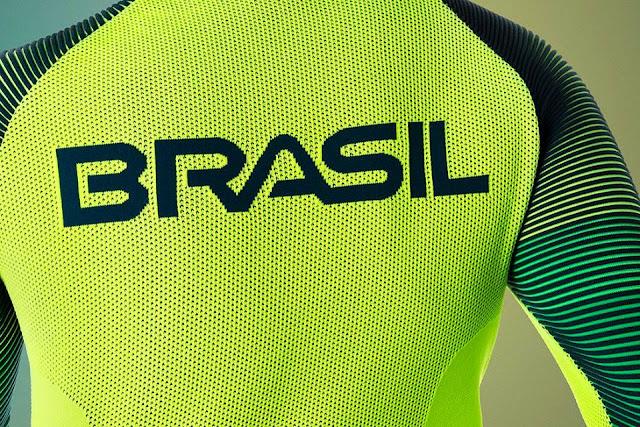 Nike presenta el uniforme de Brasil para los Juegos