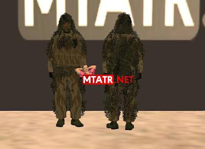 MTA SA Camouflage Soldier