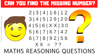 Can you find the missing numbers in these puzzles?