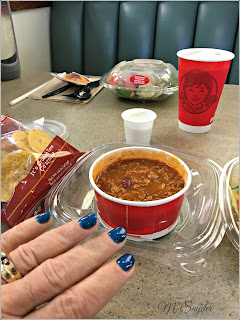 June 7, 2019 Enjoying a day in the city, manicure and Wendy's