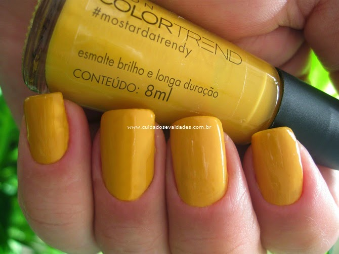 Esmalte Color Trend Avon Mostarda Trendy