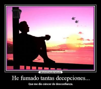 Frases de desilusión de amor, decepción, desamor, desmotivacion amorosa