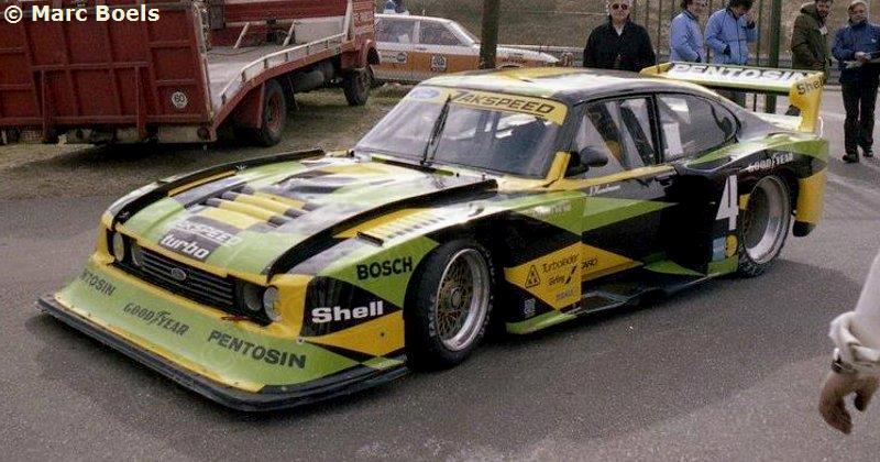 Juanh Racing Team Ford Capri Mkiii Rs Turbo 372