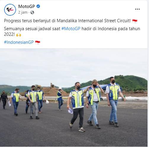 MotoGP Indonesia Tidak Jadi Di 2021, Tapi Indonesia Jadi Tuan Rumah MotoGP Di 2022 ?
