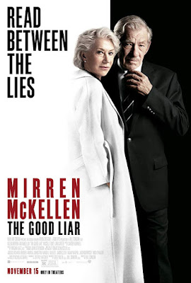 The Good Liar movie poster starring Helen Mirren and Ian McKellen