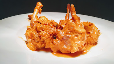 Lollipops marinated with batter for chicken lollipop recipe