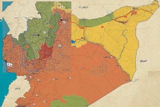 المعارضة السورية التابعة للأجندات التركية، وتطبيق مشروع التتريك والتشييع، وتقسيم سوريا ( الفهم الأوسع للأحداث )