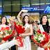 Hoa hậu Khánh Vân rạng rỡ tại sân bay ngày trở về TP. HCM