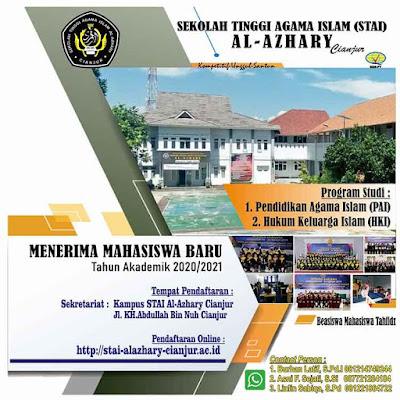 Kampus Perguruan Tinggi Islam STAI Al Azhari Cianjur