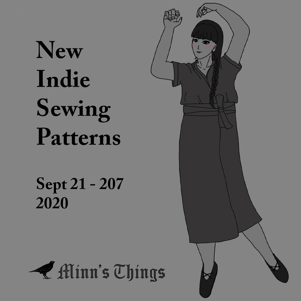 list new releases updates sewing patterns indie independent small designers international september 2020