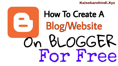 How to create a free blog and website?