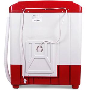 Panasonic 6.5 kg N-W65B2RRB back, Best Panasonic 6.5 kg semi-automatic washing machine