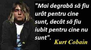 Maxima zilei: 20 februarie - Kurt Cobain
