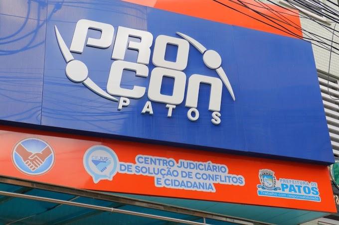 Procon municipal de Patos tem multa aplicada a empresa reconhecida pelo TJ
