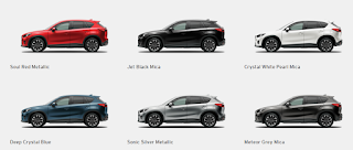 6 pilihan warna new mazda cx-5