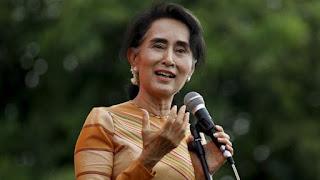 peace laureate aung san suu kyi