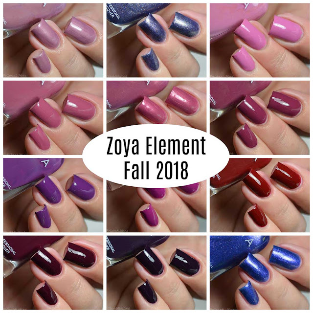 zoya fall 2018 nail polish collection