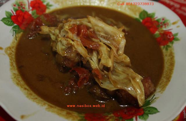 Resep marak kambing ala nasi box walini ciwidey