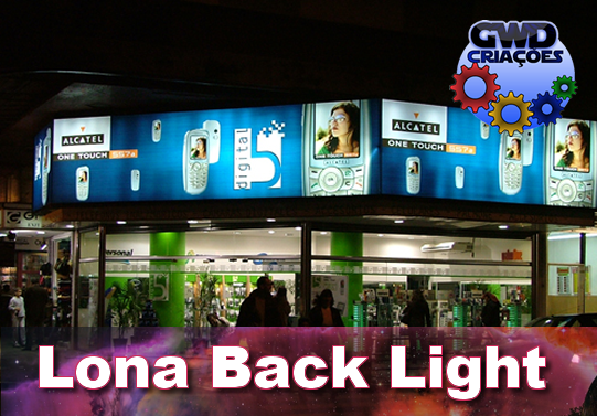 Banner Lona Back Light