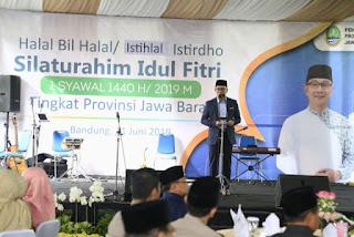 Ridwan Kamil,  Idul Fitri  Momen Terbaik Memperbaiki  Diri