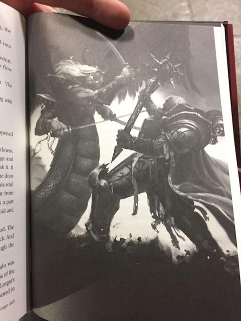 Fulgrim vs Lorgar