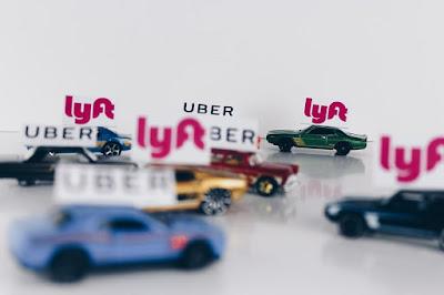 Uber and Lyft cartoon