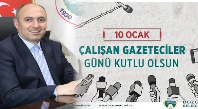 Başkan Aksoy'dan Gazeteciler Günü Mesajı