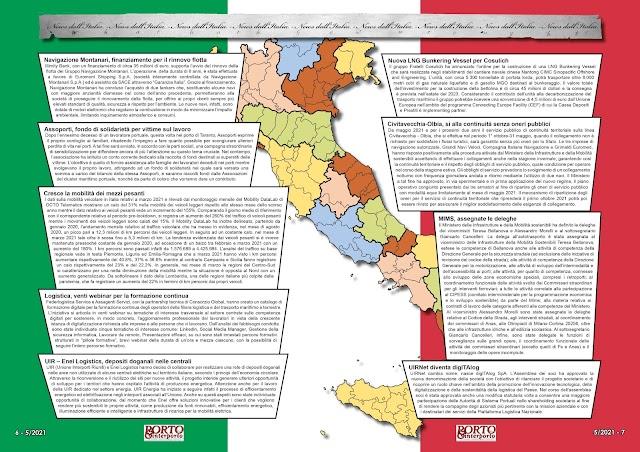 MAGGIO 2021 PAG. 6 - NEWS DALL'ITALIA