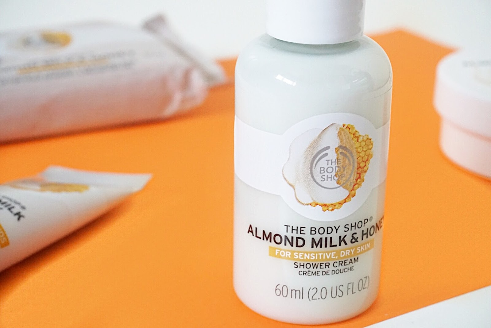 The Body Shop Almond Milk & Honey Shower Cream