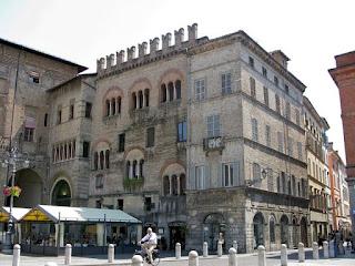 The Palazzo del Podestà in Parma