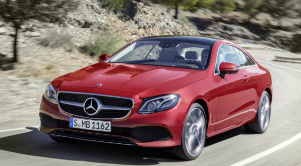 mercedes e class coupe 2018 is a high-class hardtop