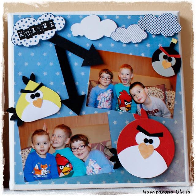 ramka Angry Birds
