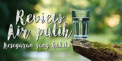 Reyhan Ismail, Manfaat air putih, Air putih
