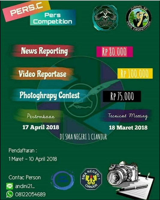 Event Pers Competition II 2018 SMAN 1 Cianjur